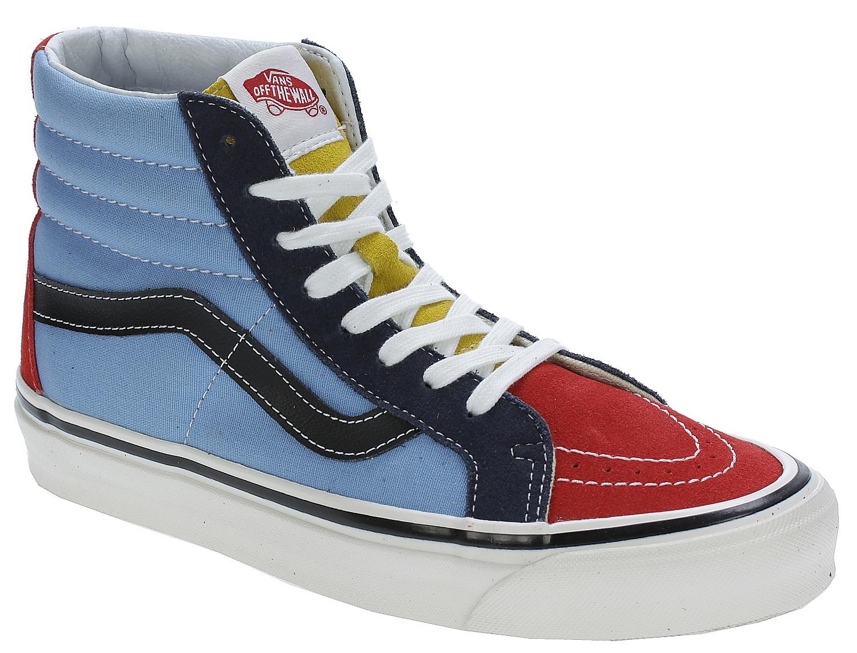 shoes Vans Sk8-Hi 38 Reissue - 50Th/Stv/Multi Color - Snowboard ...