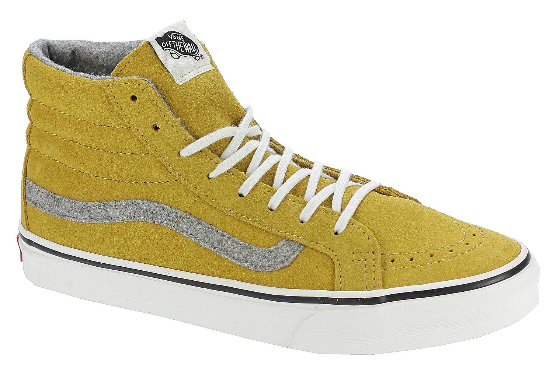 4c983dbef1 shoes Vans Sk8-Hi Slim - Vintage Suede Amber Gold - Snowboard shop ...
