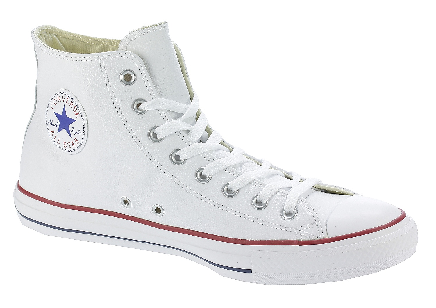 boty Converse Chuck Taylor All Star Leather Hi - 132169/White 41