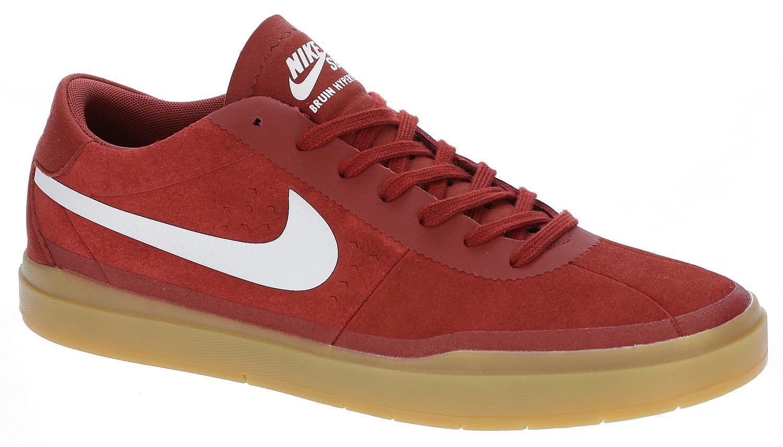 Eléctrico Piñón odio  shoes Nike SB Bruin SB Hyperfeel - Dark Cayenne/White/Gum Light Brown -  Snowboard shop, skateshop - snowboard-online.eu