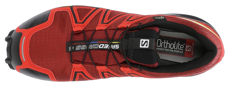 ... topánky Salomon Speedcross 4 GTX - Brique-X Radiant Red Black ... 358fd033f50