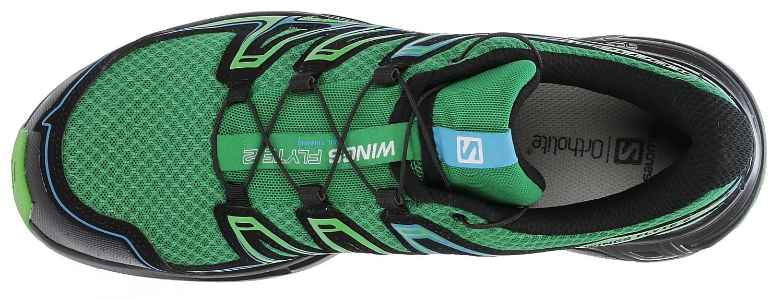 boty Salomon Wings Flyte 2 - Athletic Green X/Black/Scuba ...