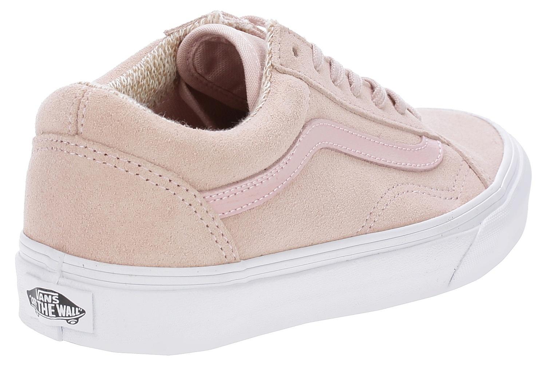 shoes Vans Old Skool - Suede Woven Peachskin True White - Snowboard ... 23ad4ff99