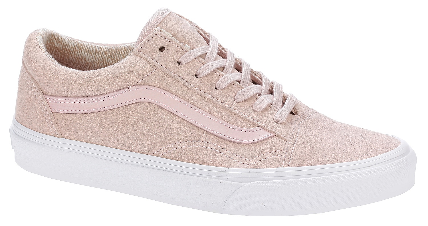 354785796a shoes Vans Old Skool - Suede Woven Peachskin True White - Snowboard shop