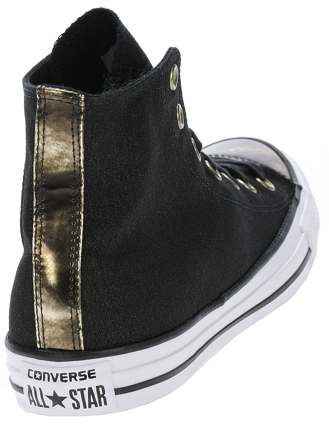 c8af4edfbebf ... topánky Converse Chuck Taylor All Star Brush Off Toecap Hi -  553305 Black Light ...