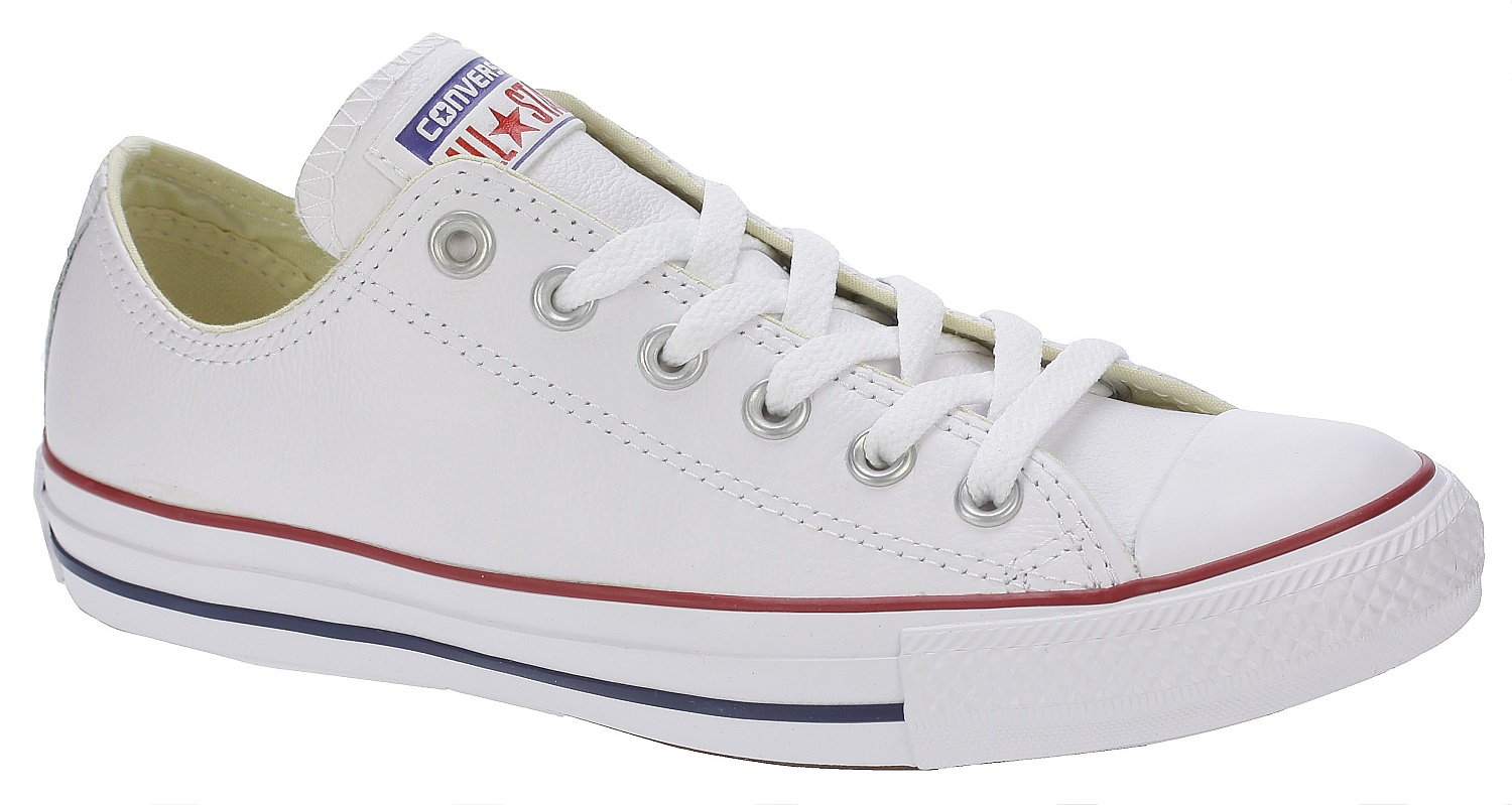 boty Converse Chuck Taylor All Star Leather OX - 132173 White 41 4fb502acf1