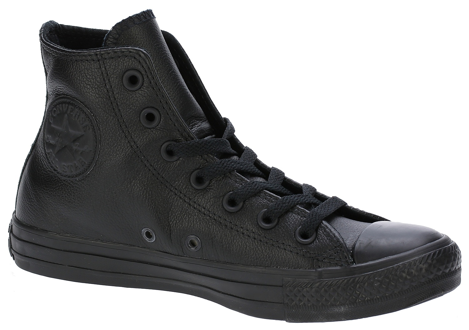 boty Converse Chuck Taylor All Star Leather Hi - 135251/Black Monochrome 37