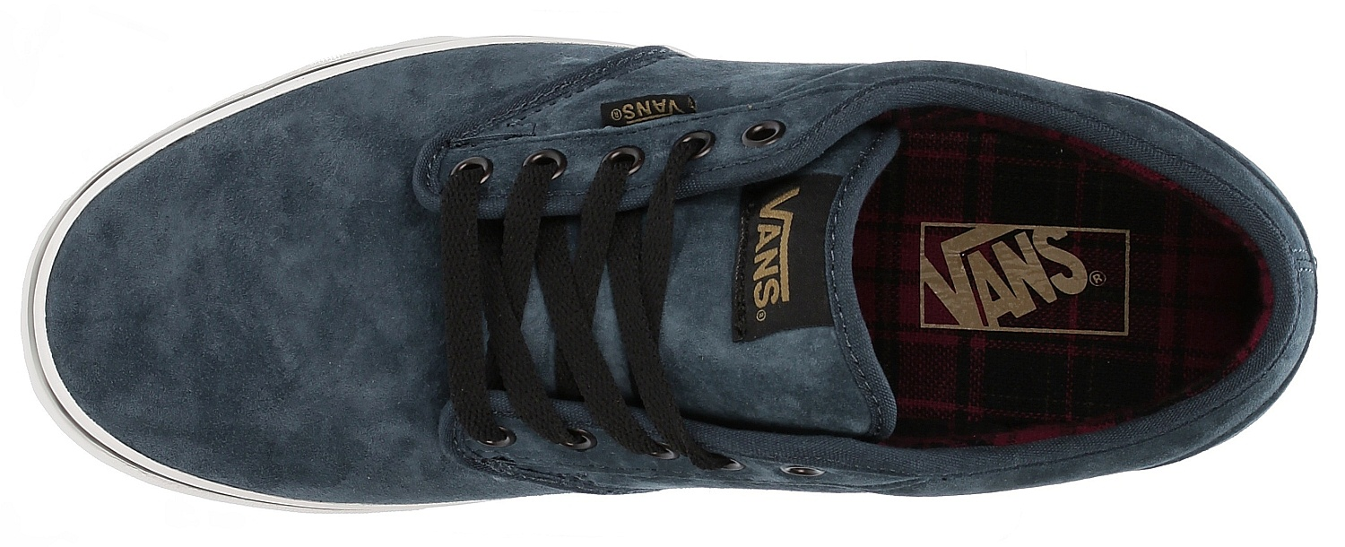f717d37baba shoes Vans Atwood - Mte Flannel Navy Marshmallow - Snowboard shop ...