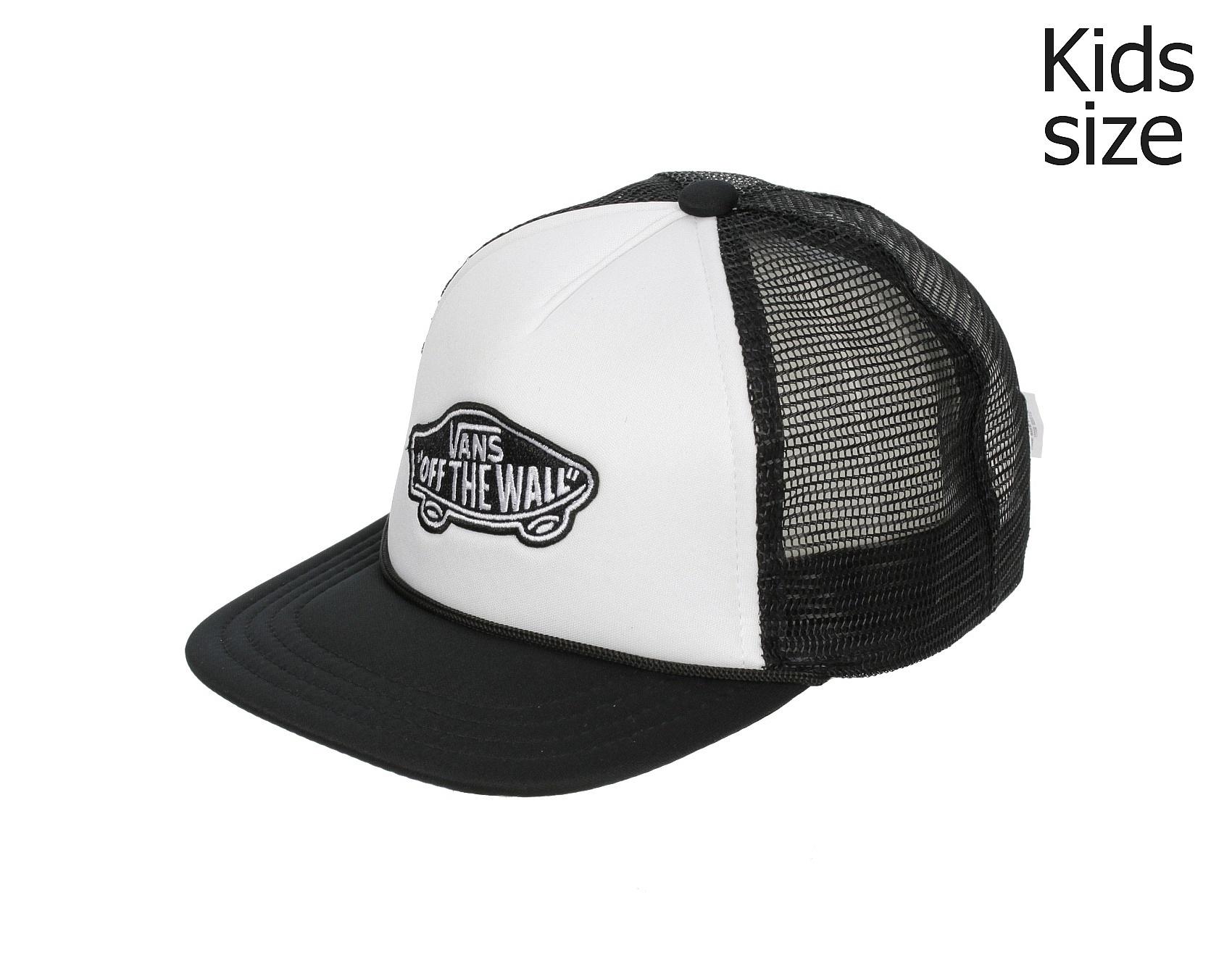 083467477db kšiltovka Vans Classic Patch Trucker Youth - White Black - Snowboard shop