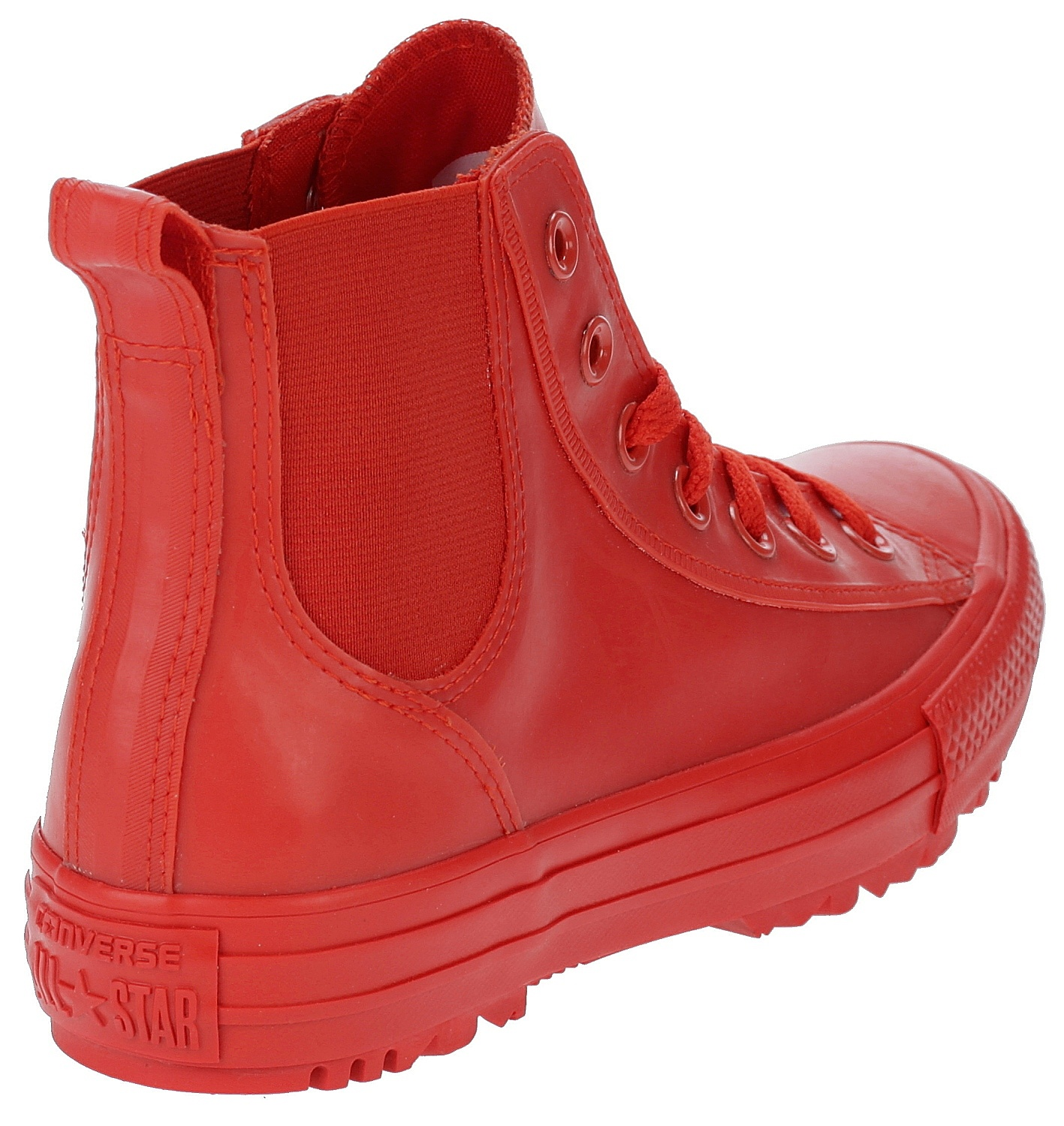12d4e935c8e ... boty Converse Chuck Taylor All Star Chelsea Rubber Boot Hi - 553265 Signal  Red  ...