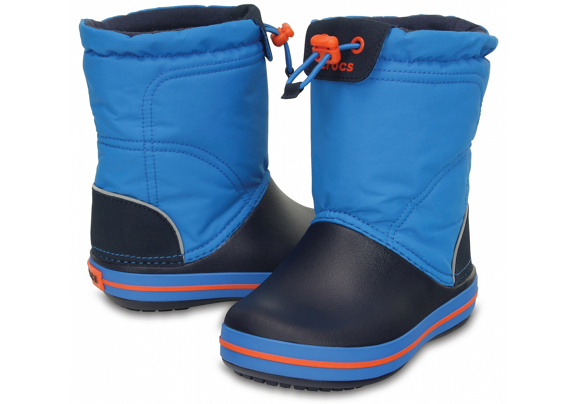 boty Crocs Crocband Lodgepoint Boot - Ocean Navy 28 29 4785c12a9d