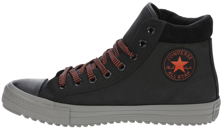 cb1a96cd760 Boty Converse Chuck Taylor All Star Converse Boot PC Leather Hi -  153672 Black Charcoal Gray Signal Red   Předchozí Další