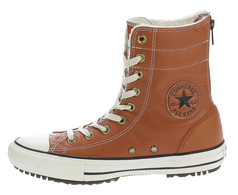 ... boty Converse Chuck Taylor All Star Hi-Rise Leather+Fur Hi - 553390  ... 97c14a3264b11