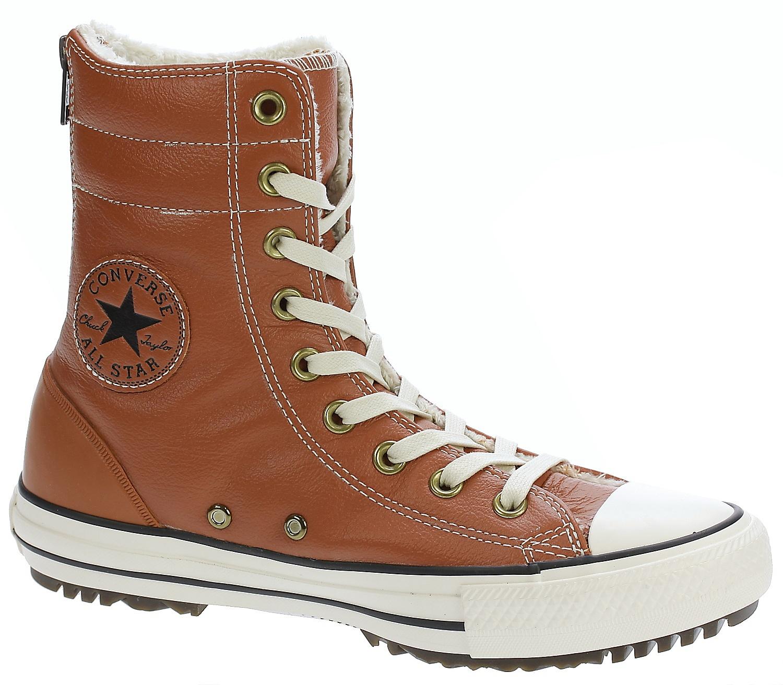 daf319f835a560 boty Converse Chuck Taylor All Star Hi-Rise Leather+Fur Hi - 553390 Antique  Sepia Parchment Egret - skate-online.skate-online.cz