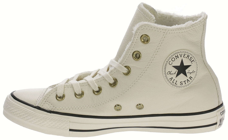 d9f96cd131b7 ... boty Converse Chuck Taylor All Star Winter Knit + Fur Hi - 553367  Parchment  ...