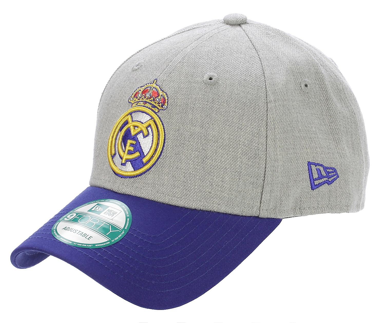 cap New Era 9FO Euroleague Real Madrid - Official Team Colour Gray - Snowboard  shop c8c6f36019b