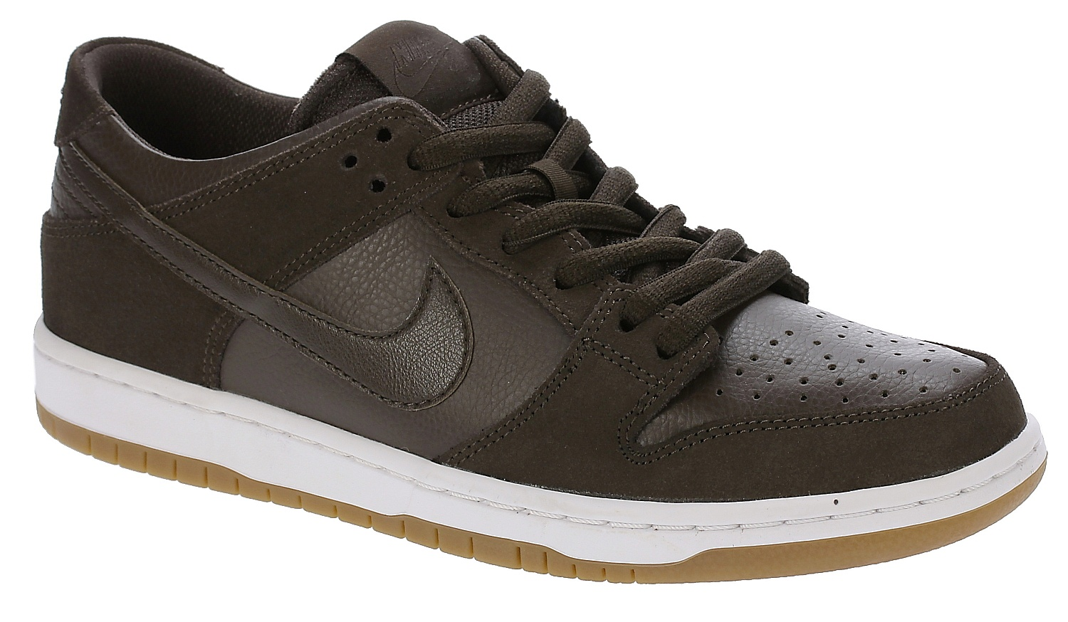 huge selection of 492ad 2cf5c shoes Nike SB Dunk Low Pro Ishod Wair - Baroque Brown Baroque Brown White -  Snowboard shop, skateshop - snowboard-online.eu