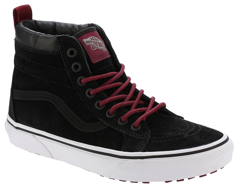 5bb01993b48 shoes Vans Sk8-Hi MTE - MTE Black Beet Red - Snowboard shop ...