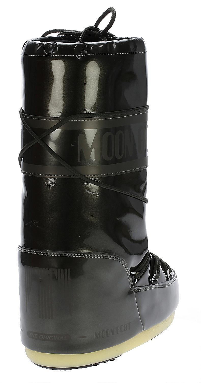 shoes Tecnica Moon Boot Vinile Met - Black