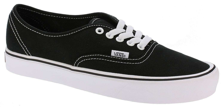 shoes Vans Authentic Lite - Canvas/Black/White - Snowboard shop ...