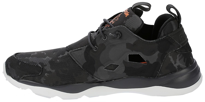 ... shoes Reebok Furylite CC - Coal/Wild Orange/Polar Blue ...