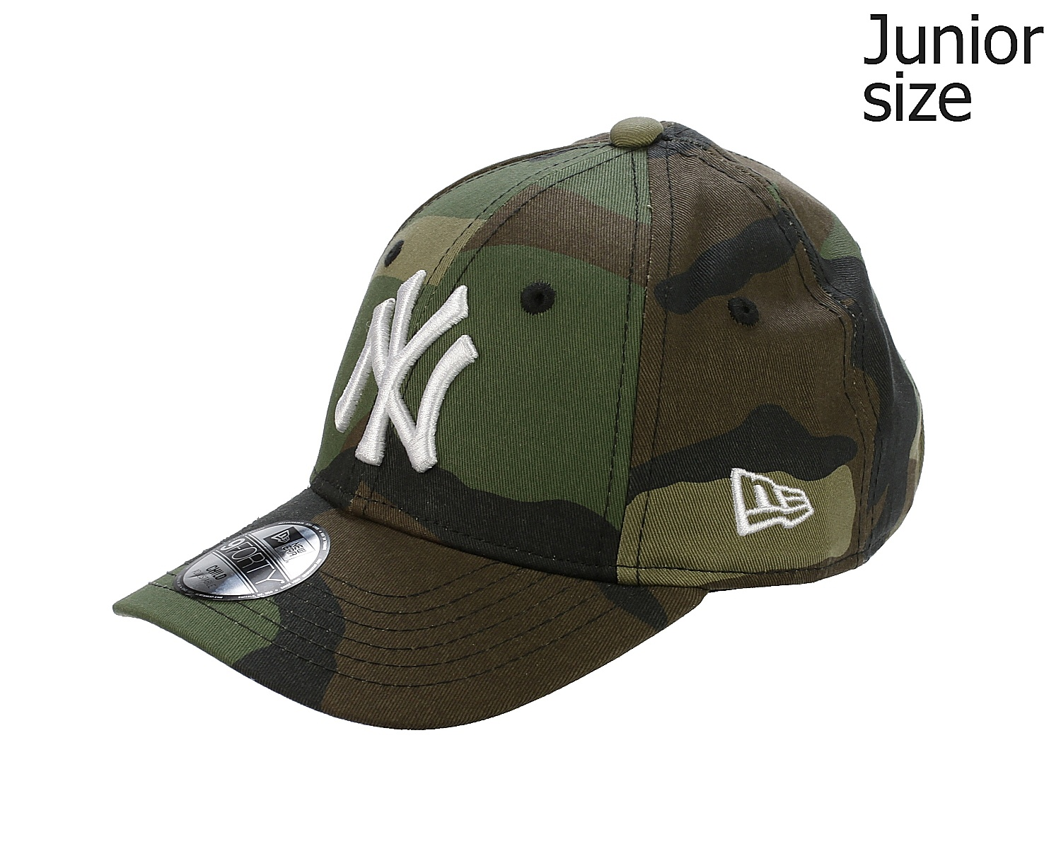 63a05824740 dětská kšiltovka New Era 9FO League Essential MLB New York Yankees Child - Woodland  Camo - Snowboard shop