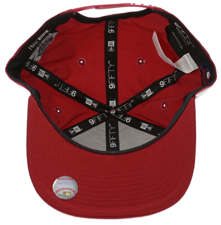 d856fb0cc ... šiltovka New Era 9FI Nylon Mix Wordmark MLB New York Yankees - Scarlet  ...