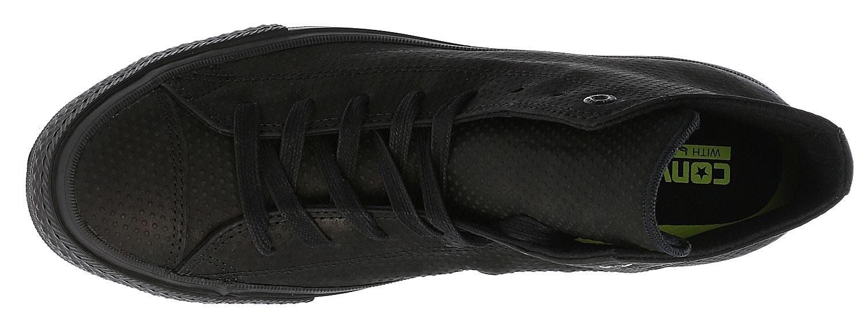 780b2cd4af82 ... boty Converse Chuck Taylor All Star II Lux Leather Hi - 155762 Black  Black ...