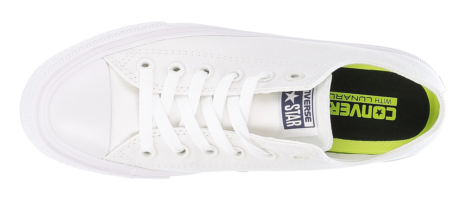e04648b96171 ... boty Converse Chuck Taylor All Star II Low Top OX - 150154 White White  ...
