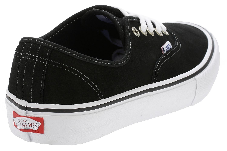 topánky Vans Authentic Pro - Suede Black - skate-online.skate-online.sk 55a32c2d62c