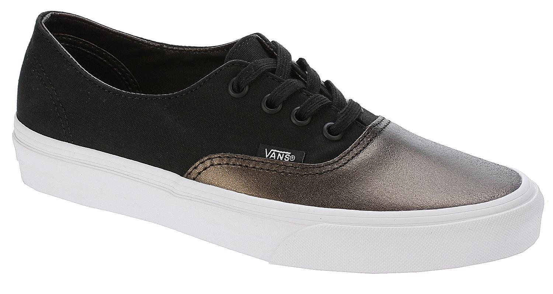 9b2121c5d5 shoes Vans Authentic Decon - Metallic Canvas Black - Snowboard shop ...