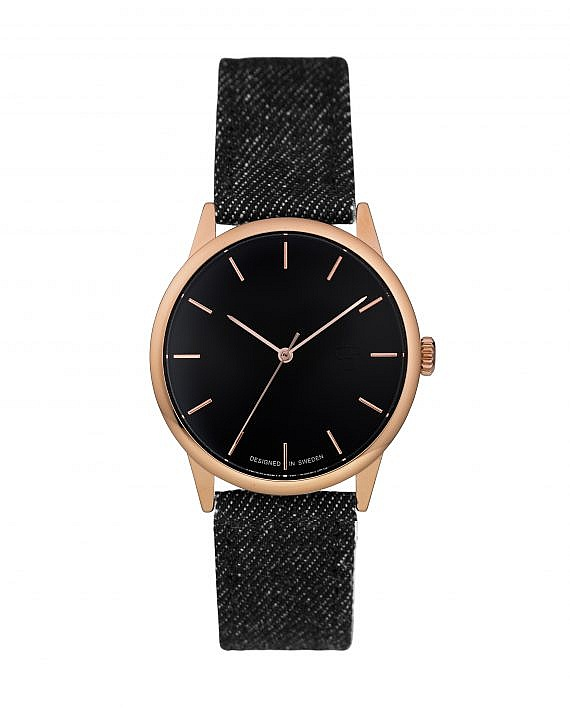 hodinky CHPO Make Equal - 14234EE/Rose Gold/Black Denim one size