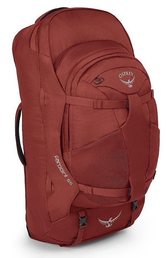 batoh Osprey Farpoint 55 M/L - Jasper Red 55 L