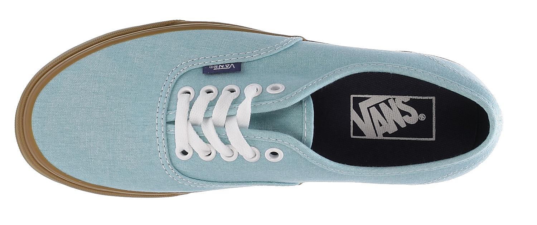 bfa87d4a4e shoes Vans Authentic - Washed Canvas Blue Radiance Gum - Snowboard ...