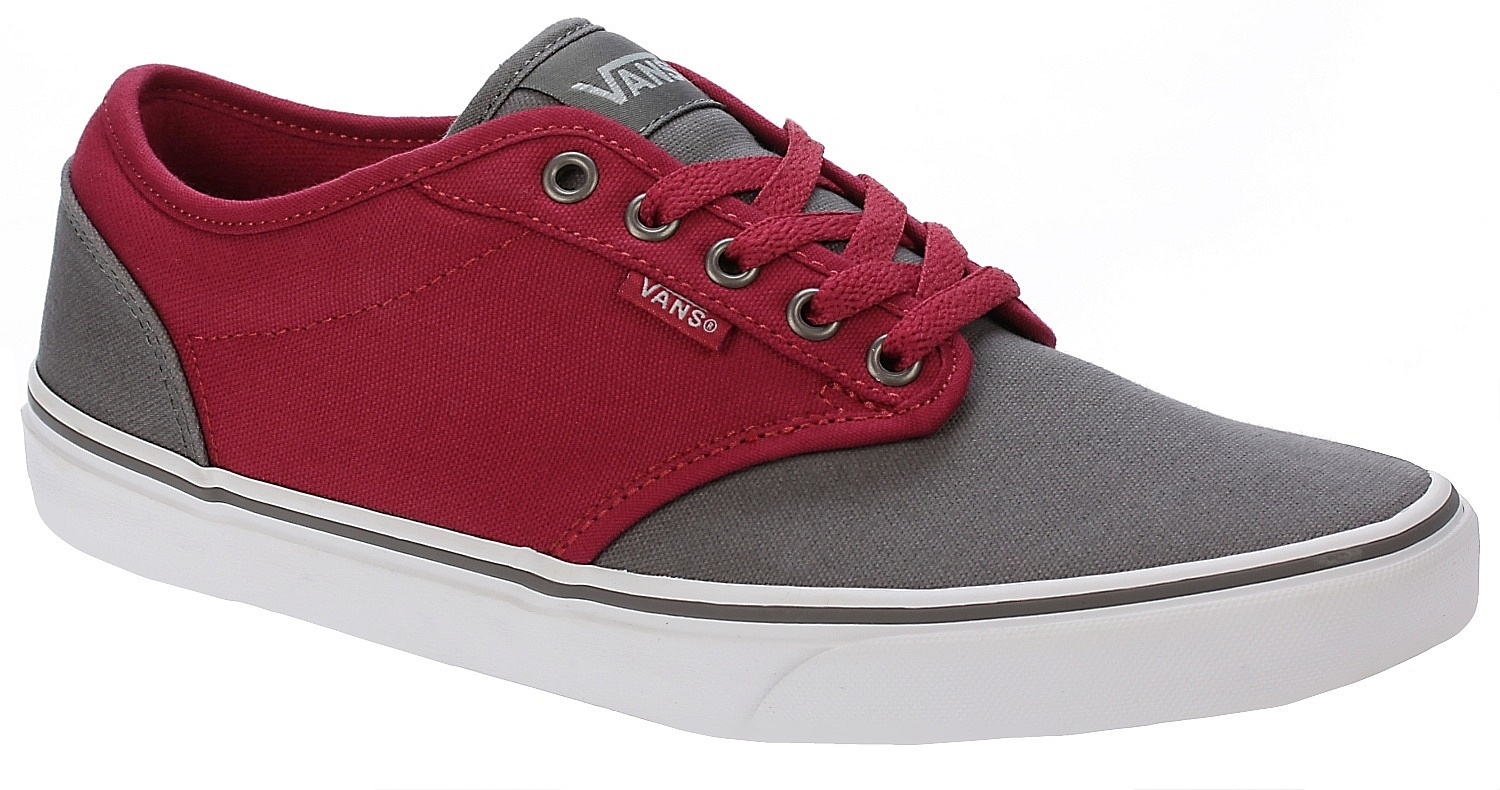 shoes Vans Atwood - 2 Tone/Gray/Red