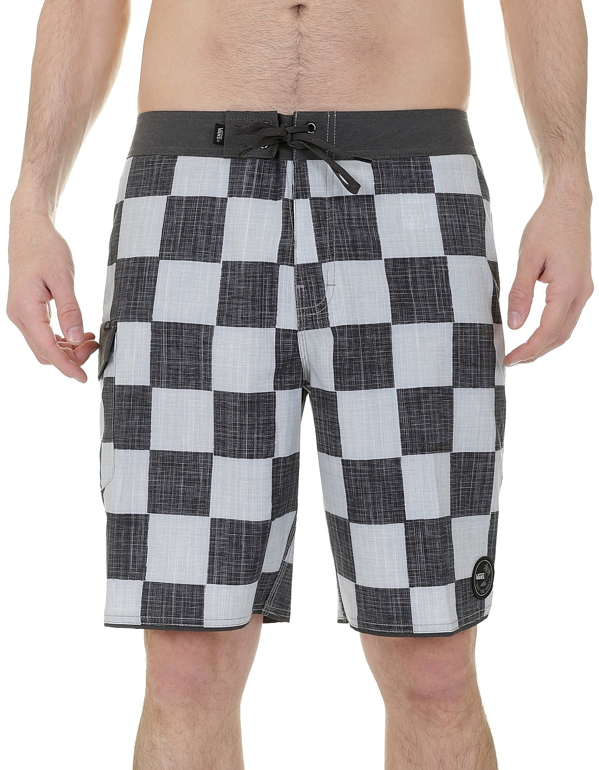 3a6c9663e6 swim shorts Vans Mixed Scallop - Checkerboard - Snowboard shop ...