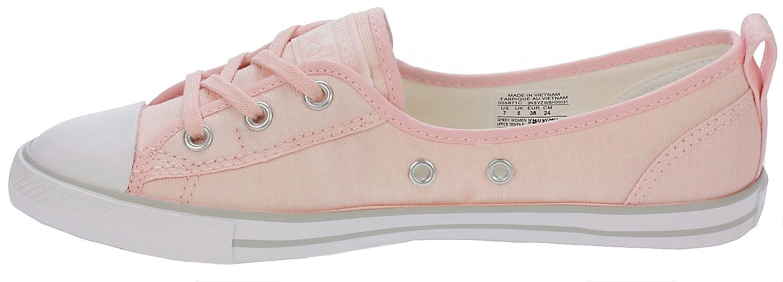 ad9d47649ac70e ... boty Converse Chuck Taylor All Star Ballet Lace Slip - 555871 Vapor Pink White  ...