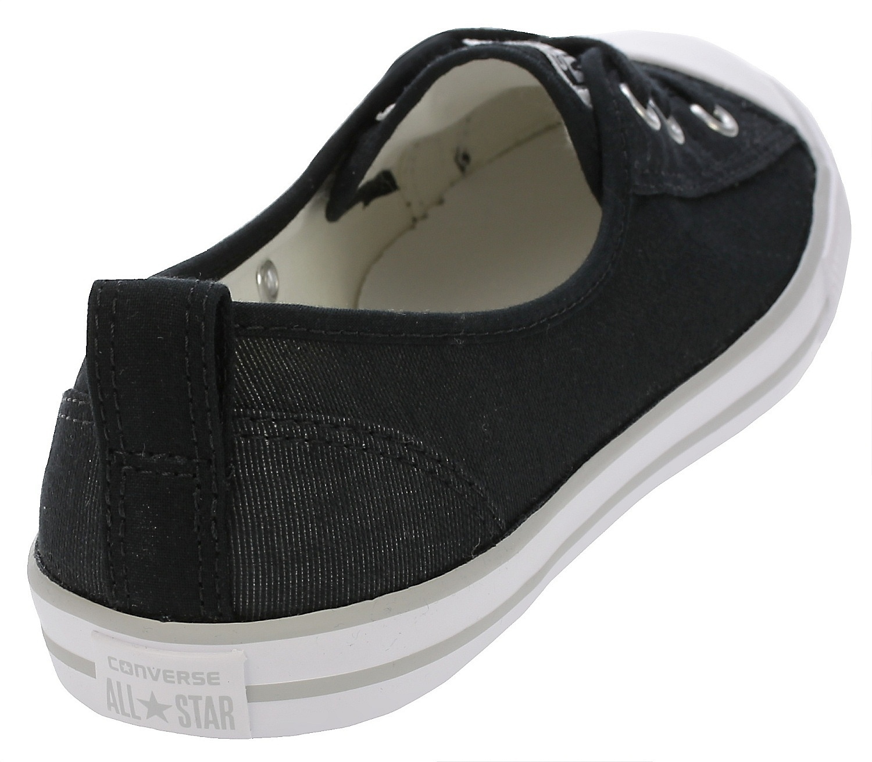 d16c8173b3a769 ... shoes Converse Chuck Taylor All Star Ballet Lace Slip -  555869 Black White  ...