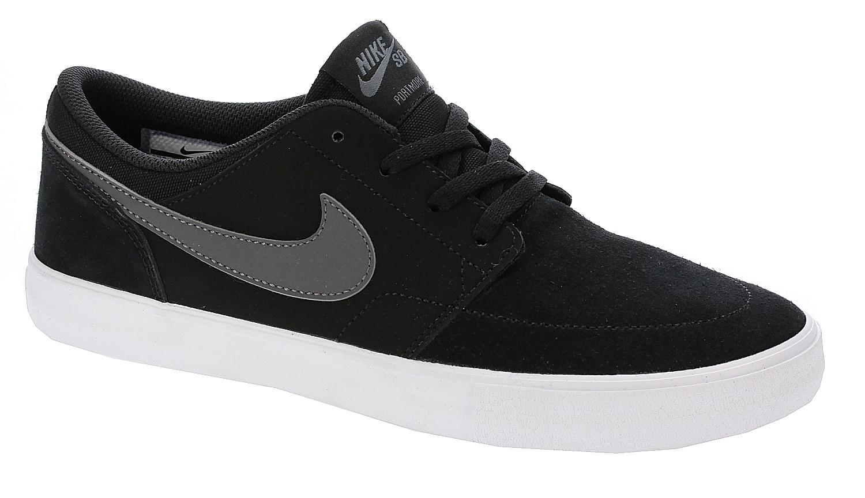 boty Nike SB Portmore II Solar - Black/Dark Gray/White 39