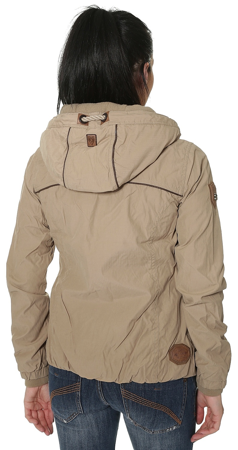 jacket Naketano Du Bist Hier In Werl Sand Snowboard shop