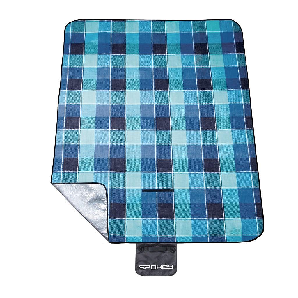 deka Spokey Picnic Flannel - K839636/Blue one size