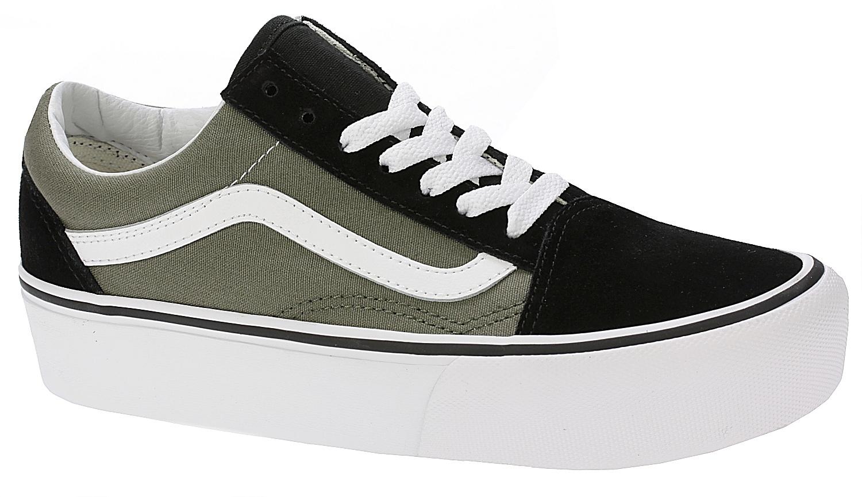 d67d642b2dd shoes Vans Old Skool Platform - Grape Leaf True White - Snowboard shop