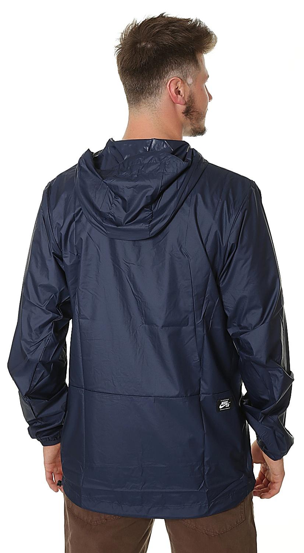 f066c0d7476a bunda Nike SB Packable Anorak - 475 Obsidian White - Snowboard shop ...
