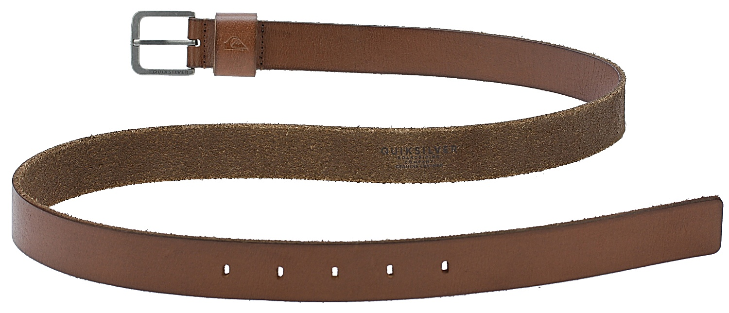 6d3077a2e0193 belt Quiksilver Slimelt - CMT0 Bone Brown - Snowboard shop ...