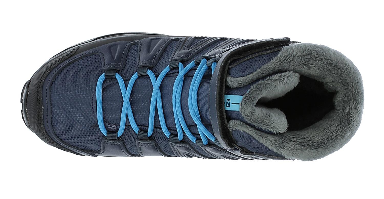 ... detské topánky Salomon X-Ultra Winter GTX J - Slateblue Deep Blue Scuba 1f67d4b8050