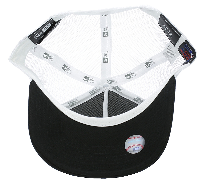 831ccf47ba8 kšiltovka New Era Clean Trucker MLB New York Yankees - Black White ...