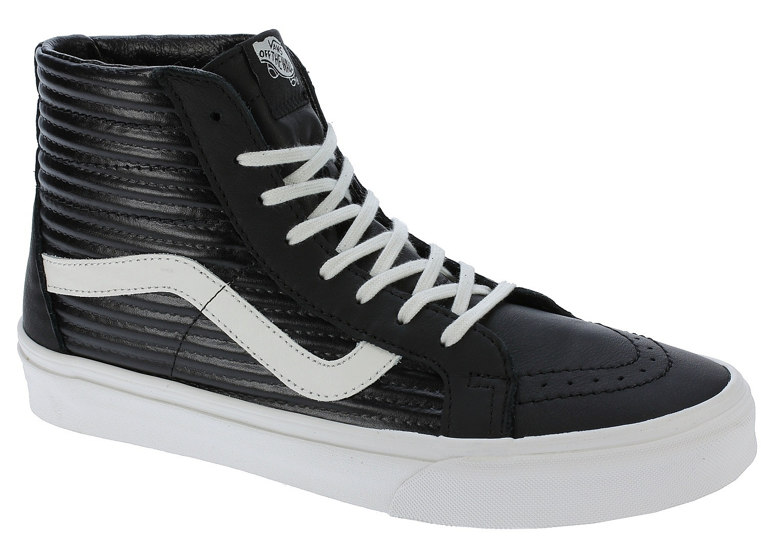 2bc65d4bf7c5 shoes Vans Sk8-Hi Reissue - Moto Leather/Black/Blanc De Blanc - Snowboard  shop, skateshop - snowboard-online.eu