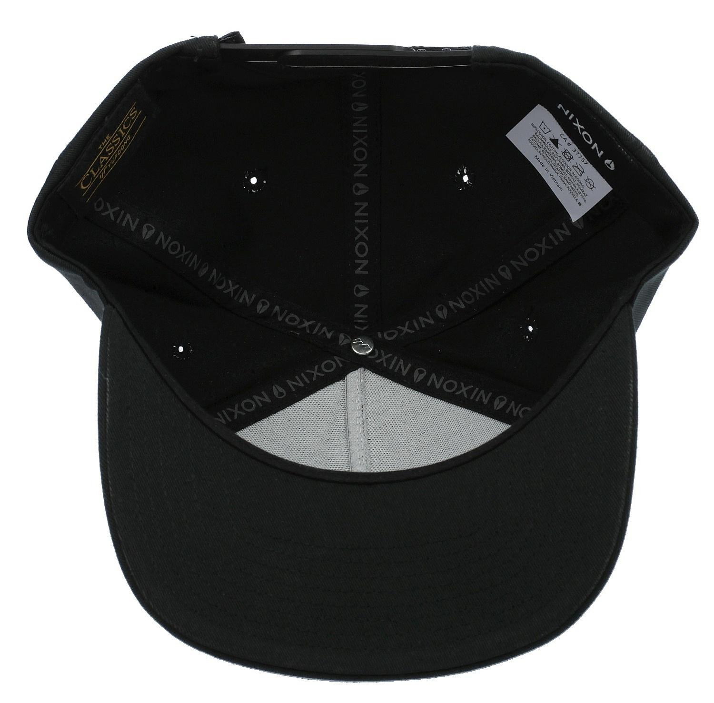 9676c1d89 cap Nixon Simon Snapback - Black/White - Snowboard shop, skateshop ...