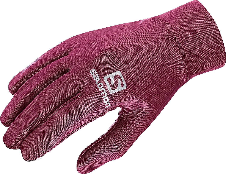 rukavice Salomon Agile Warm Glove U - Beet Red M