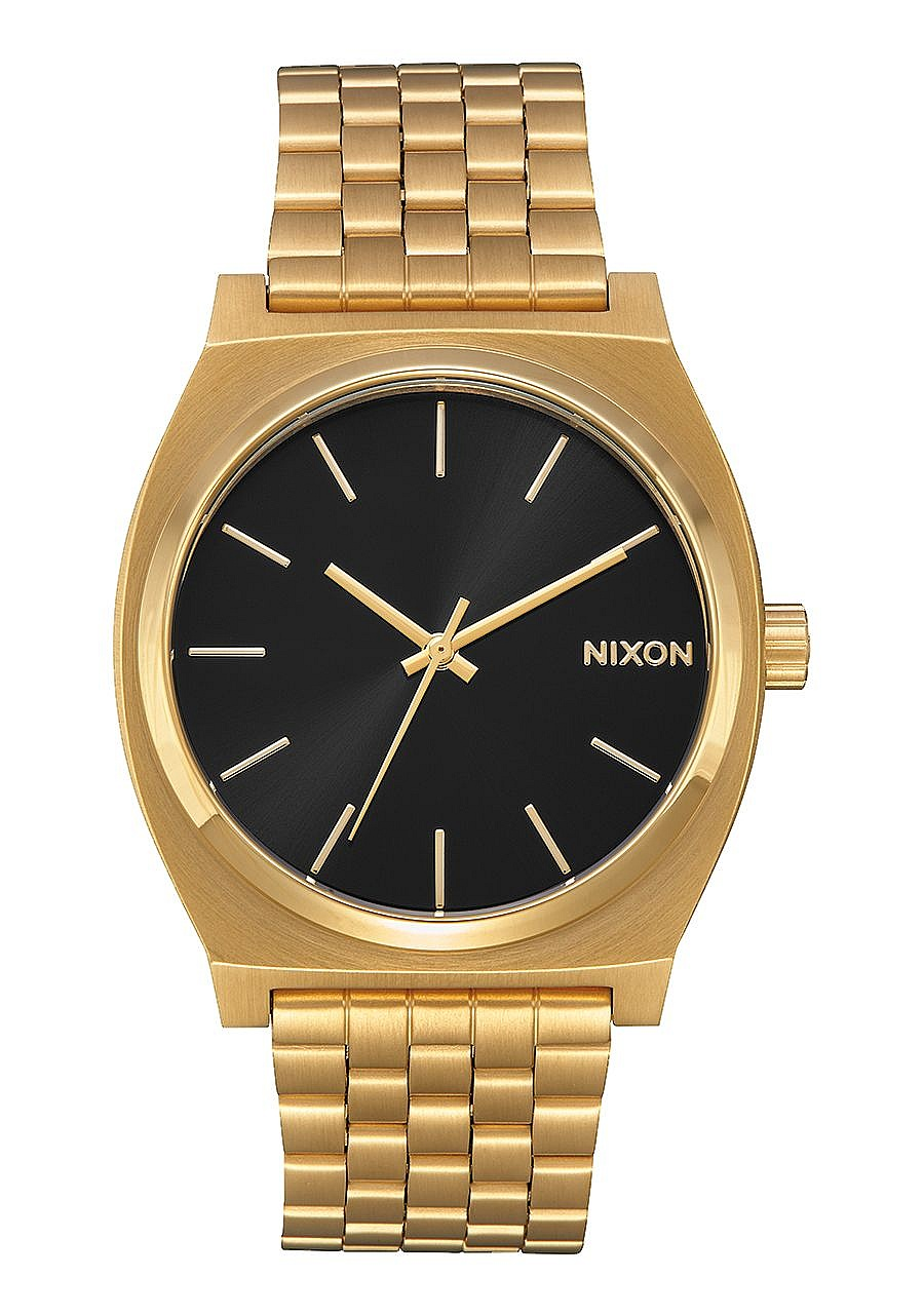 hodinky Nixon Time Teller - All Gold/Black Sunray one size